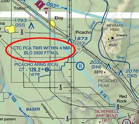 a more common application of 91 126 d and 91 127 c is seen for temporary control towers which don t qualify for cl d aire